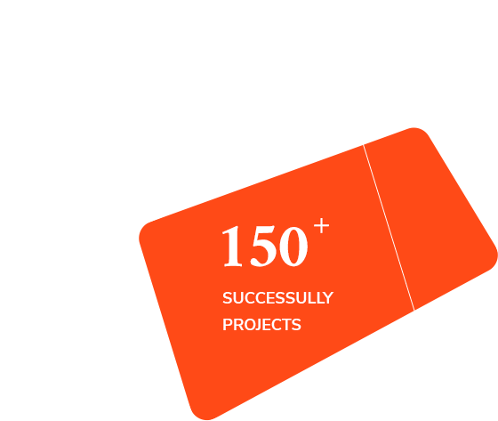150+ Successful projects
