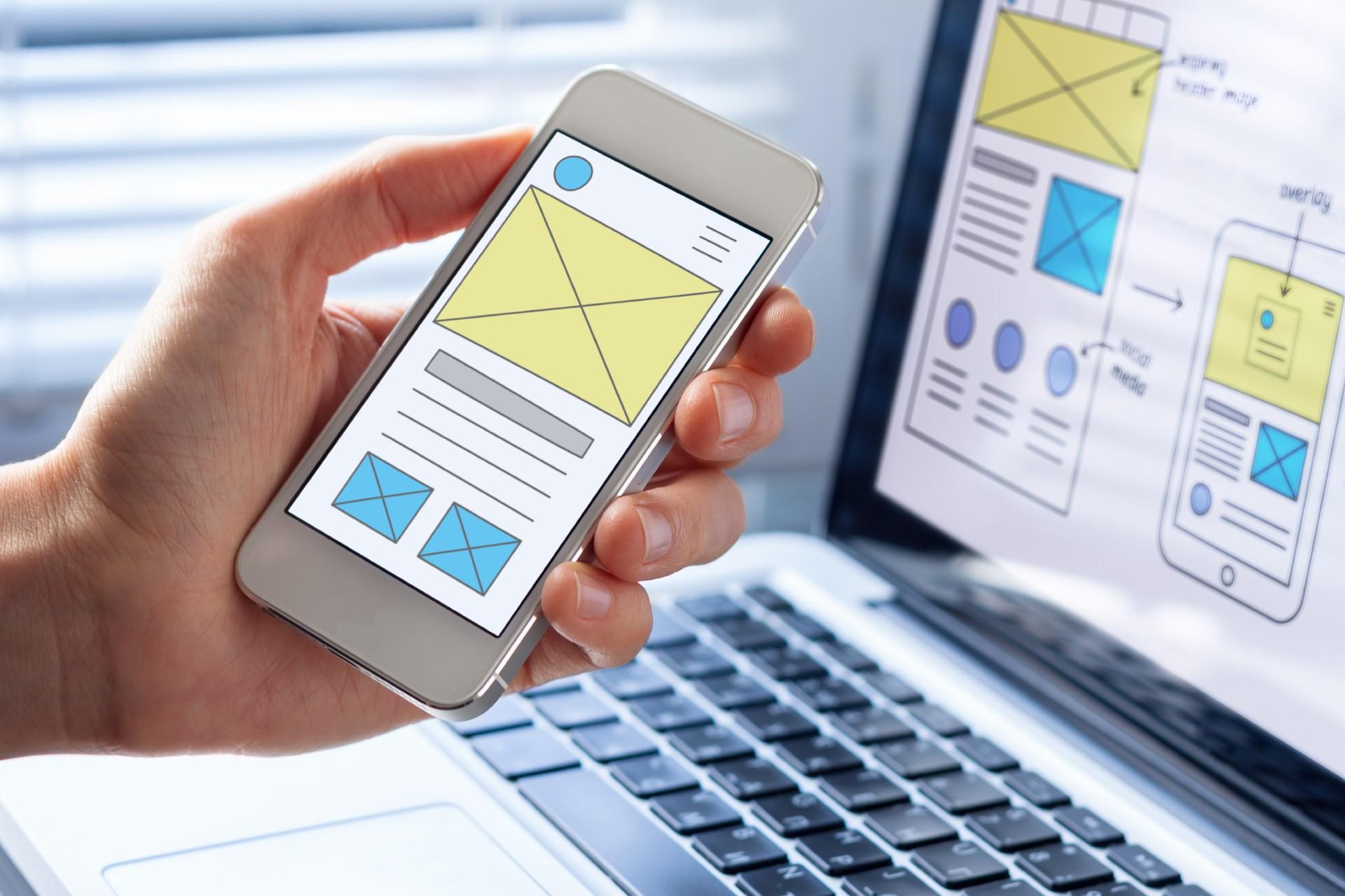 Mobile responsive medical web design
