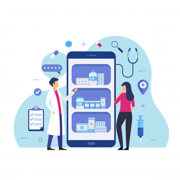 Custom healthcare web design product and service offering